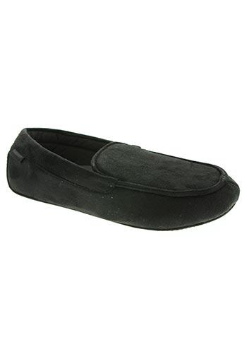 isotoner chaussures homme de couleur noir
