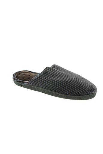 isotoner chaussures homme de couleur marron
