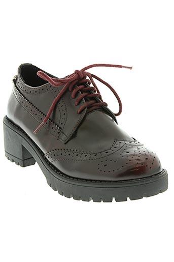 refresh chaussures femme de couleur rouge