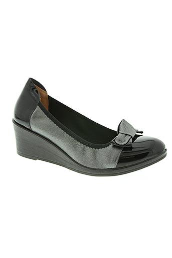 inea chaussures femme de couleur gris