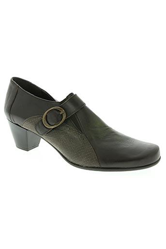elles-memes chaussures femme de couleur marron
