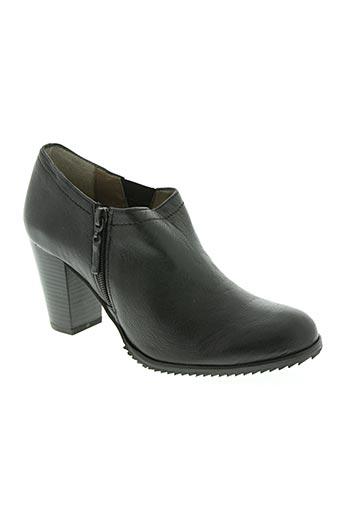 natureva chaussures femme de couleur noir