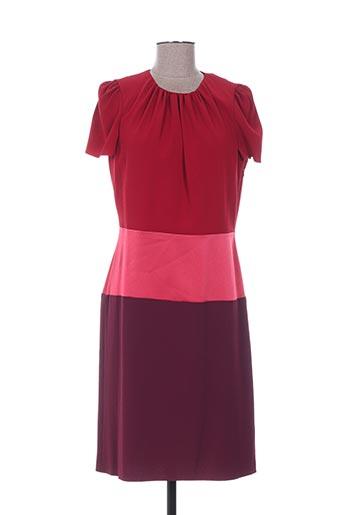 Robe mi-longue rouge PAULE KA pour femme