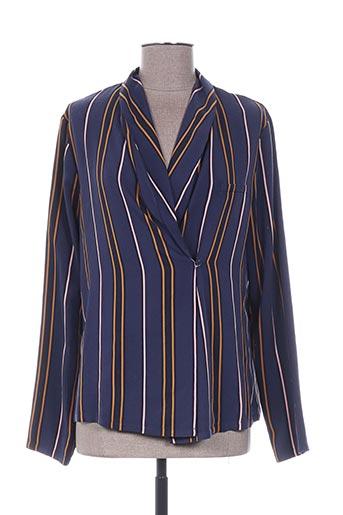 Veste casual bleu PRINCESSE TAM-TAM pour femme