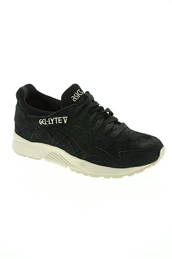 asics chaussures garçon de couleur noir