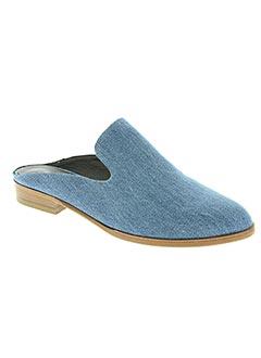 Mules/Sabots bleu ROBERT CLERGERIE pour femme