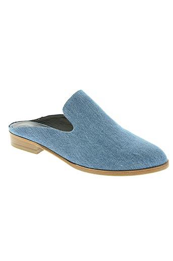 robert clergerie chaussures femme de couleur bleu