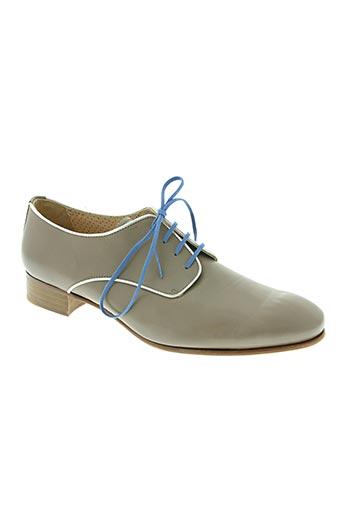 pertini chaussures femme de couleur gris