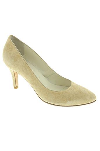 sixieme sens chaussures femme de couleur beige