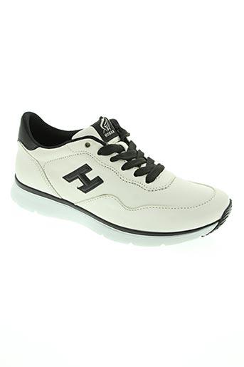 hogan chaussures femme de couleur blanc