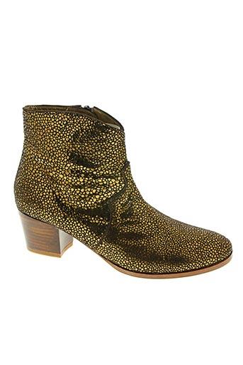 patricia blanchet chaussures femme de couleur marron