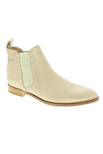 pertini chaussures femme de couleur beige