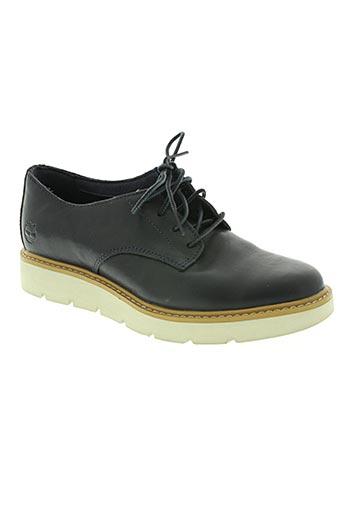 timberland chaussures femme de couleur bleu