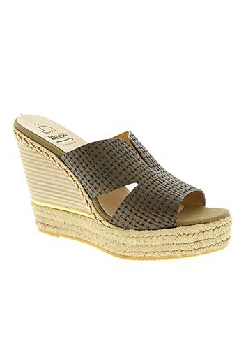 kanna chaussures femme de couleur marron