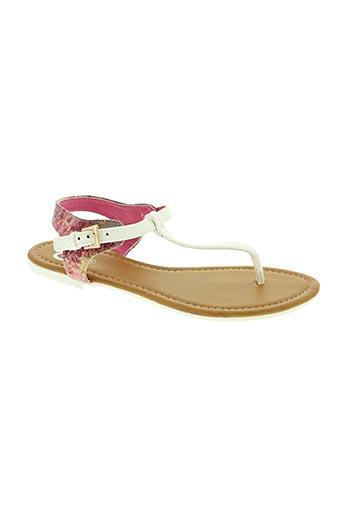 cassis cote d'azur chaussures femme de couleur blanc