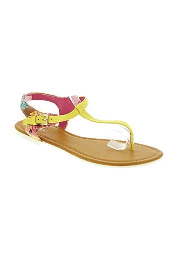 cassis cote d'azur chaussures femme de couleur jaune