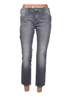 Jeans coupe slim gris ARTISTS pour femme