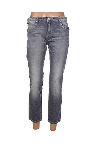 Jeans coupe slim gris ARTISTS pour femme
