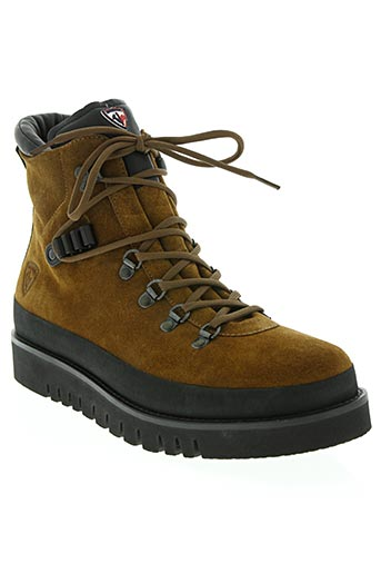 rossignol chaussures homme de couleur marron