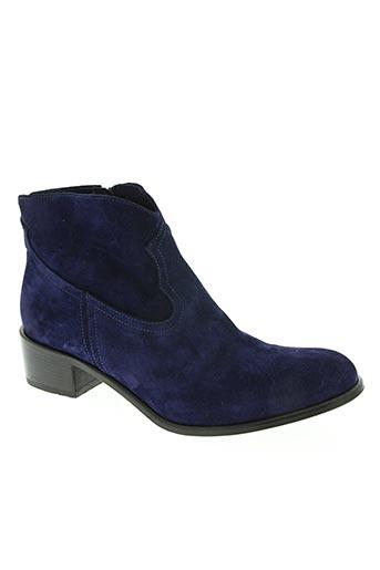 nimal chaussures femme de couleur bleu