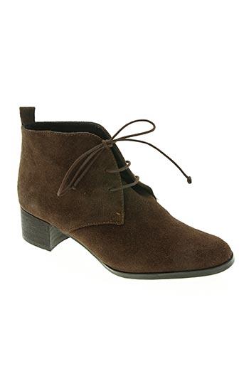 elizabeth stuart chaussures femme de couleur marron