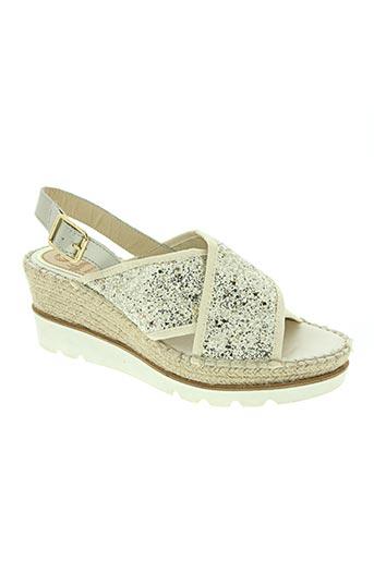vidorreta chaussures femme de couleur gris