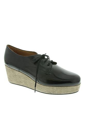 castaner chaussures femme de couleur noir