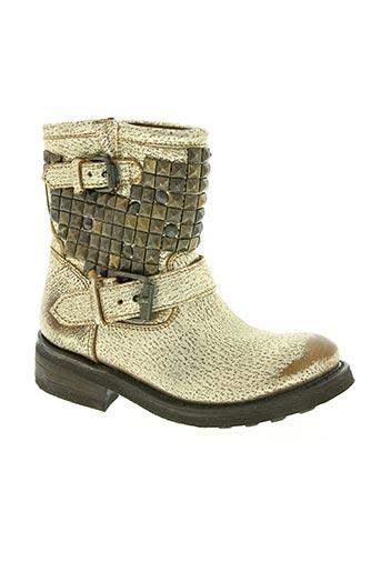Bottines/Boots jaune ASH pour femme