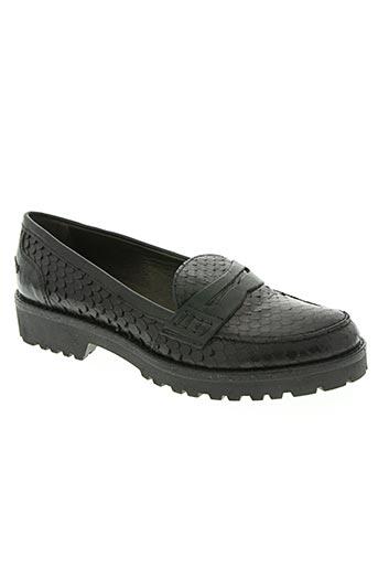 mally chaussures femme de couleur noir