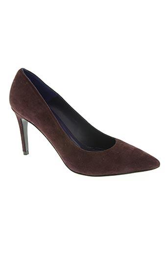 anaki chaussures femme de couleur violet