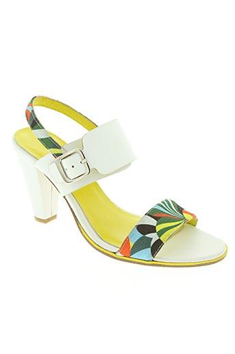lo-view chaussures femme de couleur blanc