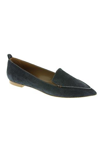 bianca di chaussures femme de couleur bleu