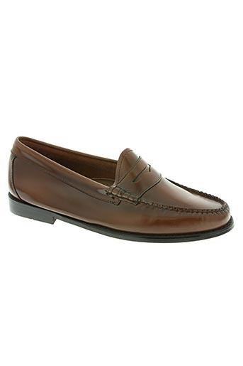 g.h.bass&co. chaussures homme de couleur marron