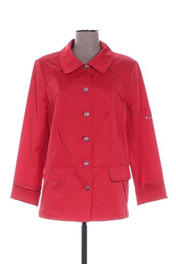 Veste chic / Blazer rouge PAUPORTÉ pour femme