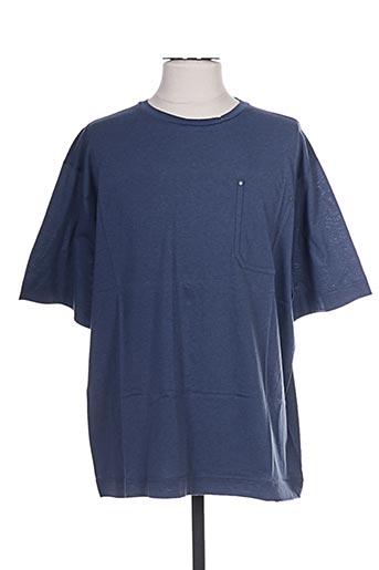 T-shirt manches courtes bleu DIESEL pour homme