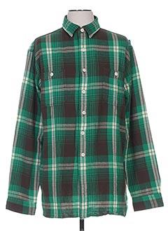 Chemise manches longues vert RALPH LAUREN pour homme