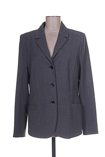 Veste chic / Blazer gris KARTING pour femme