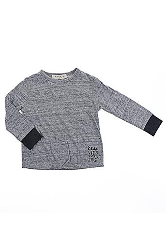 T-shirt manches longues gris PLAY'UP pour fille
