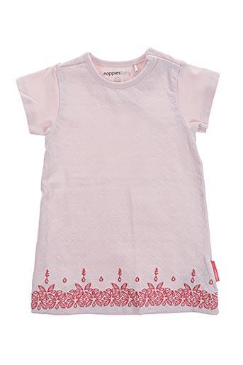 Robe mi-longue rose NOPPIES pour fille