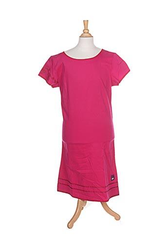 Robe mi-longue rose KENZO pour fille