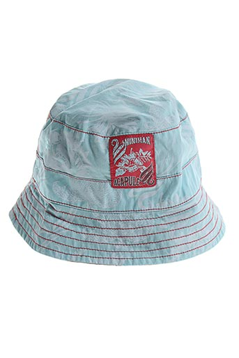 Chapeau bleu MINIMAN pour garçon