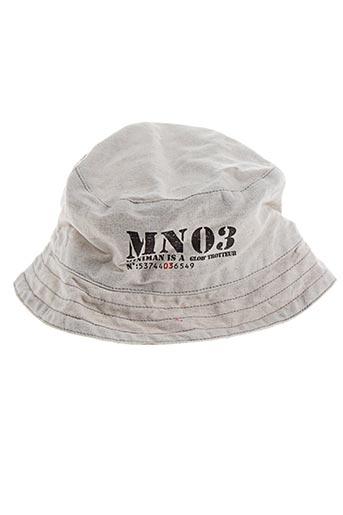 Chapeau gris MINIMAN pour garçon