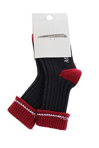 Chaussettes rouge MINIMAN pour fille
