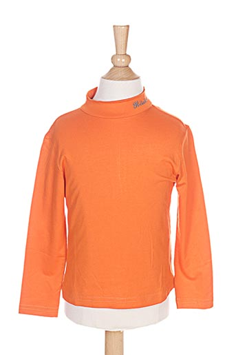 il etait une fee t-shirts fille de couleur orange