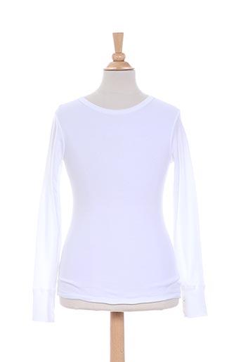 achel t-shirts enfant de couleur blanc