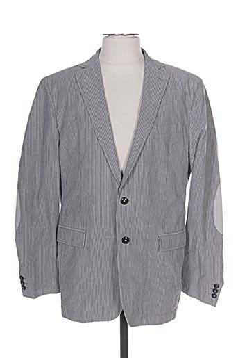 Veste casual gris STONES pour homme