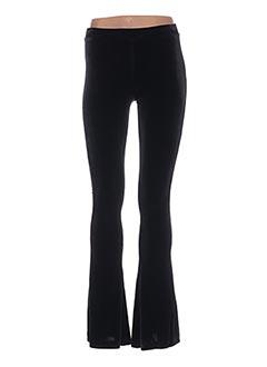 Pantalon casual noir VALERIE KHALFON pour femme