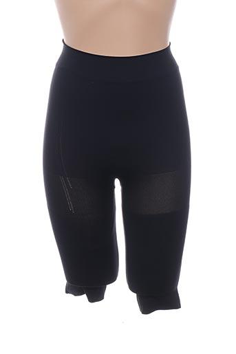 Panty noir CASS pour femme
