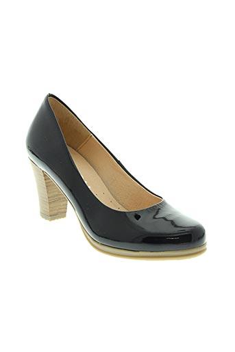 karston chaussures femme de couleur bleu