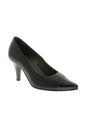 alpina chaussures femme de couleur noir